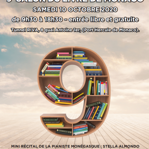 9e salon du livre de Monaco