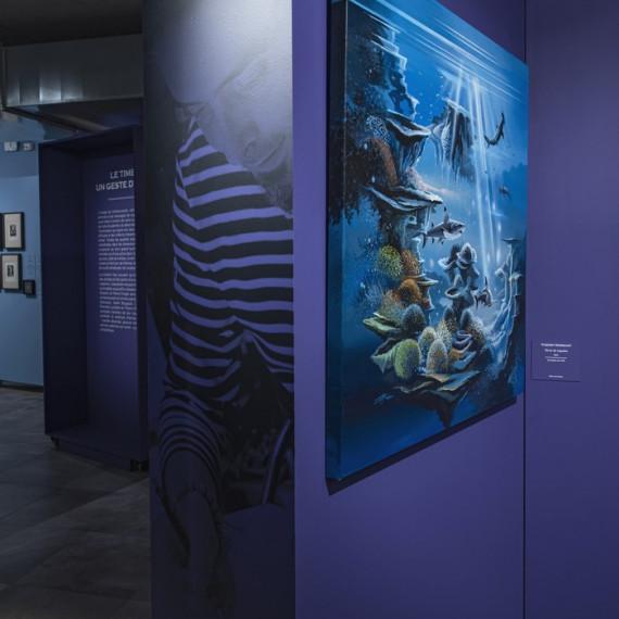 """Exposition """" A la pointe de l'art"""" - Musée de la Poste à Paris"""