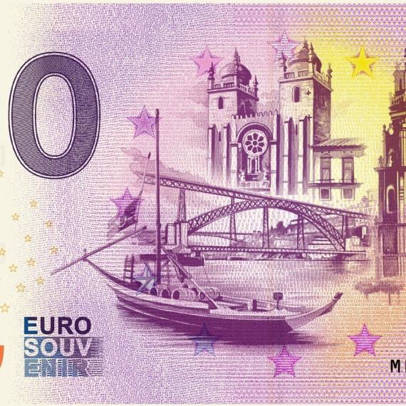 "Billet ""PORTO"" - BANKNOTE Euro Souvenir Portugal 2020"
